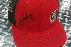 Aaron Kaufman SIgned Hat